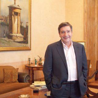 Giorgos Kaminis, maire d'Athènes