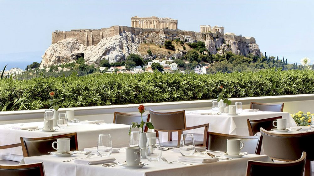 Sur les toits d'Athènes