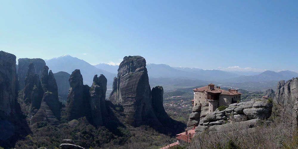Les Météores, des monastères suspendus dans les airs