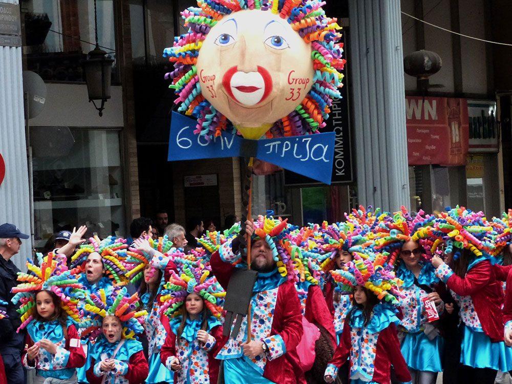 Patras, un carnaval haut en couleur