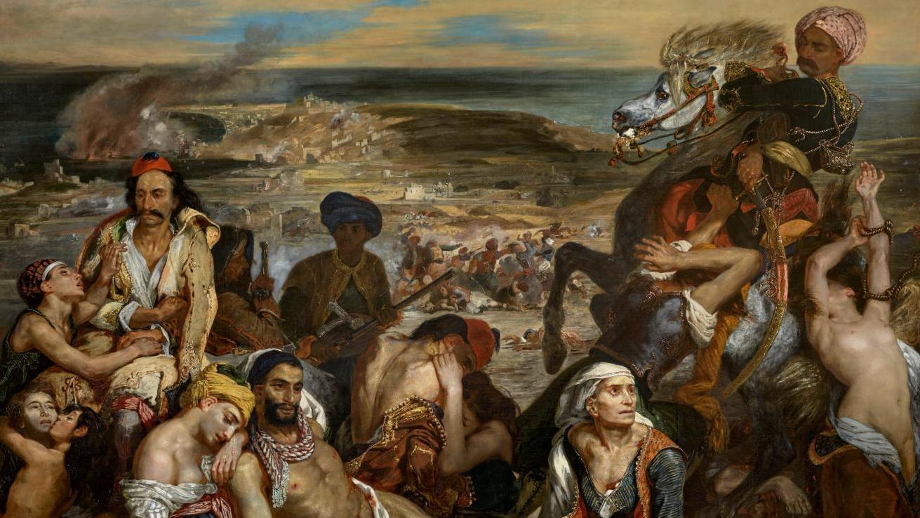 Le massacre de Chios, Eugène Delacroix